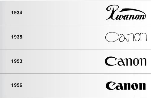 canon logos
