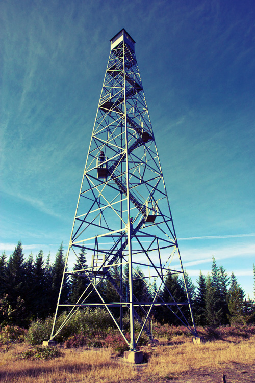 Lookout Tower - Waldy Lookout, Idaho