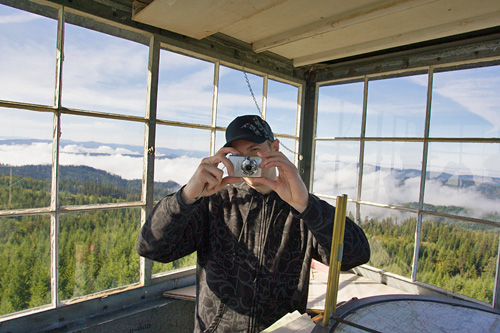 Camera Action - Waldy Lookout, Idaho