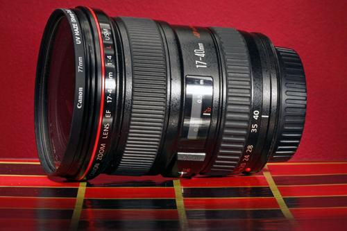 Canon 17-40mm F/4 L USM Lens